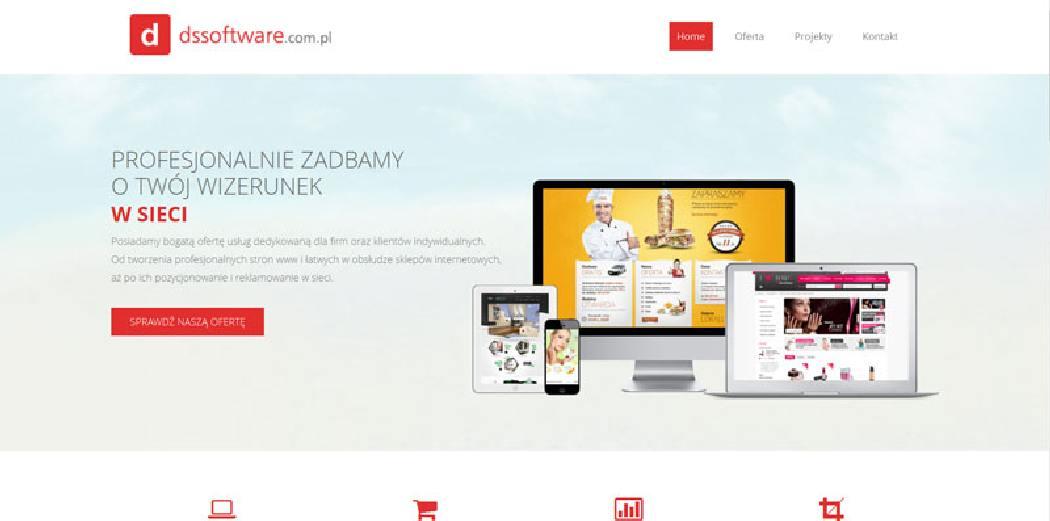 Piła projektowanie strony www